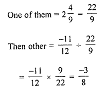 ML Aggarwal Class 8 Solutions for ICSE Maths Chapter 1 Rational Numbers Ex 1.4 Q3.1