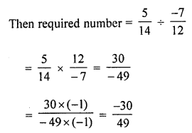 ML Aggarwal Class 8 Solutions for ICSE Maths Chapter 1 Rational Numbers Ex 1.4 Q4.1
