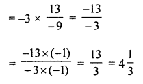 ML Aggarwal Class 8 Solutions for ICSE Maths Chapter 1 Rational Numbers Ex 1.4 Q5.1