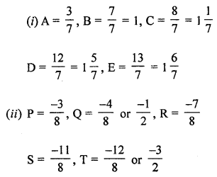 ML Aggarwal Class 8 Solutions for ICSE Maths Chapter 1 Rational Numbers Ex 1.5 Q2.2