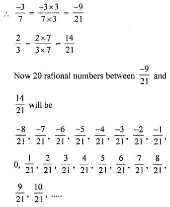 ML Aggarwal Class 8 Solutions for ICSE Maths Chapter 1 Rational Numbers Ex 1.5 Q3.1