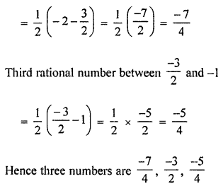 ML Aggarwal Class 8 Solutions for ICSE Maths Chapter 1 Rational Numbers Ex 1.5 Q5.1