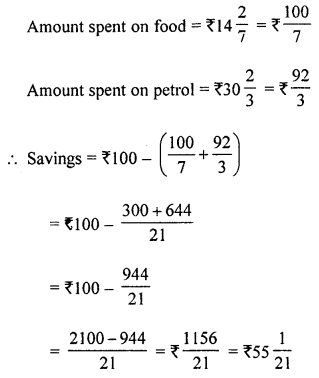 ML Aggarwal Class 8 Solutions for ICSE Maths Chapter 1 Rational Numbers Ex 1.6 Q4.1