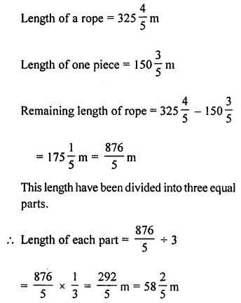 ML Aggarwal Class 8 Solutions for ICSE Maths Chapter 1 Rational Numbers Ex 1.6 Q9.1
