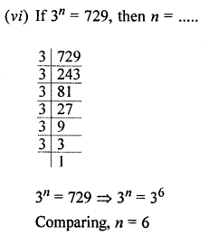 ML Aggarwal Class 8 Solutions for ICSE Maths Chapter 2 Exponents and Powers Objective Type Questions Q1.2