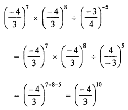 ML Aggarwal Class 8 Solutions for ICSE Maths Chapter 2 Exponents and Powers Objective Type Questions Q7.2