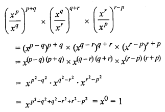 ML Aggarwal Class 8 Solutions for ICSE Maths Chapter 2 Exponents and Powers Objective Type Questions hots Q2.2