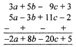 ML Aggarwal Class 8 Solutions for ICSE Maths Chapter 10 Algebraic Expressions and Identities Check Your Progress Q2.1