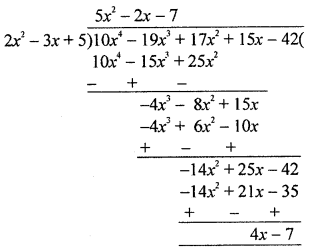ML Aggarwal Class 8 Solutions for ICSE Maths Chapter 10 Algebraic Expressions and Identities Check Your Progress Q9.1
