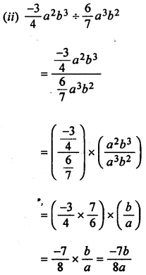 ML Aggarwal Class 8 Solutions for ICSE Maths Chapter 10 Algebraic Expressions and Identities Ex 10.4 Q1.2