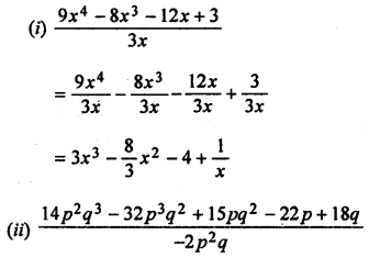 ML Aggarwal Class 8 Solutions for ICSE Maths Chapter 10 Algebraic Expressions and Identities Ex 10.4 Q2.1