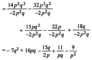 ML Aggarwal Class 8 Solutions for ICSE Maths Chapter 10 Algebraic Expressions and Identities Ex 10.4 Q2.2