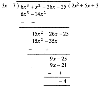 ML Aggarwal Class 8 Solutions for ICSE Maths Chapter 10 Algebraic Expressions and Identities Ex 10.4 Q4.1