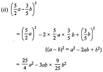 ML Aggarwal Class 8 Solutions for ICSE Maths Chapter 10 Algebraic Expressions and Identities Ex 10.5 Q3.2