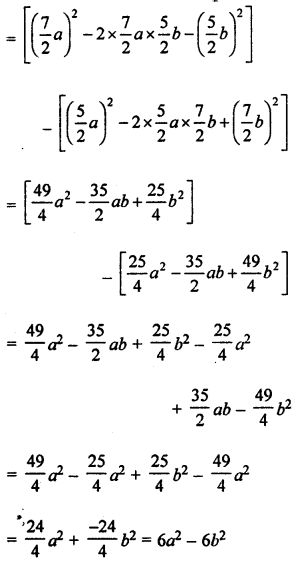 ML Aggarwal Class 8 Solutions for ICSE Maths Chapter 10 Algebraic Expressions and Identities Ex 10.5 Q7.1