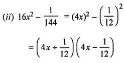 ML Aggarwal Class 8 Solutions for ICSE Maths Chapter 11 Factorisation Ex 11.3 Q3.1