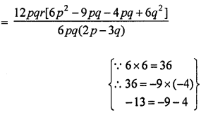 ML Aggarwal Class 8 Solutions for ICSE Maths Chapter 11 Factorisation Ex 11.5 Q3.5