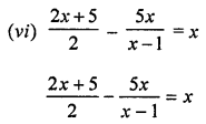 ML Aggarwal Class 8 Solutions for ICSE Maths Chapter 12 Linear Equations and Inequalities in one Variable Check Your Progress Q1.4