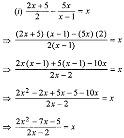 ML Aggarwal Class 8 Solutions for ICSE Maths Chapter 12 Linear Equations and Inequalities in one Variable Ex 12.1 Q10.2