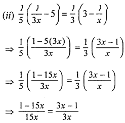 ML Aggarwal Class 8 Solutions for ICSE Maths Chapter 12 Linear Equations and Inequalities in one Variable Ex 12.1 Q10.3