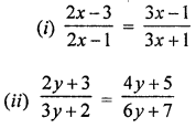 ML Aggarwal Class 8 Solutions for ICSE Maths Chapter 12 Linear Equations and Inequalities in one Variable Ex 12.1 Q11.1