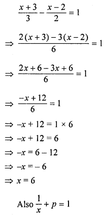 ML Aggarwal Class 8 Solutions for ICSE Maths Chapter 12 Linear Equations and Inequalities in one Variable Ex 12.1 Q13.1