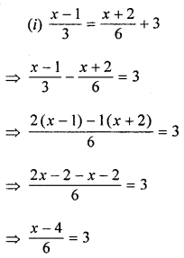 ML Aggarwal Class 8 Solutions for ICSE Maths Chapter 12 Linear Equations and Inequalities in one Variable Ex 12.1 Q4.1
