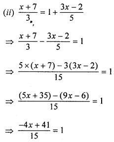 ML Aggarwal Class 8 Solutions for ICSE Maths Chapter 12 Linear Equations and Inequalities in one Variable Ex 12.1 Q4.2