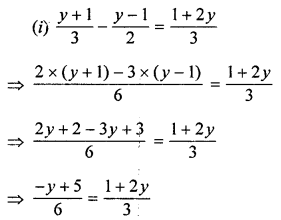 ML Aggarwal Class 8 Solutions for ICSE Maths Chapter 12 Linear Equations and Inequalities in one Variable Ex 12.1 Q5.2