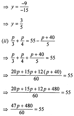 ML Aggarwal Class 8 Solutions for ICSE Maths Chapter 12 Linear Equations and Inequalities in one Variable Ex 12.1 Q5.3