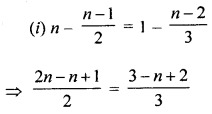 ML Aggarwal Class 8 Solutions for ICSE Maths Chapter 12 Linear Equations and Inequalities in one Variable Ex 12.1 Q6.2