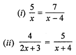 ML Aggarwal Class 8 Solutions for ICSE Maths Chapter 12 Linear Equations and Inequalities in one Variable Ex 12.1 Q9.1