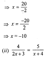 ML Aggarwal Class 8 Solutions for ICSE Maths Chapter 12 Linear Equations and Inequalities in one Variable Ex 12.1 Q9.3