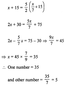 ML Aggarwal Class 8 Solutions for ICSE Maths Chapter 12 Linear Equations and Inequalities in one Variable Ex 12.2 Q4.1