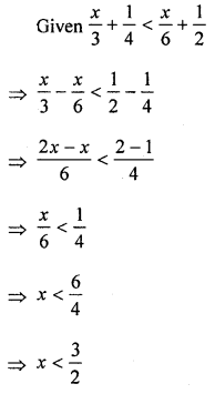 ML Aggarwal Class 8 Solutions for ICSE Maths Chapter 12 Linear Equations and Inequalities in one Variable Ex 12.3 Q10.1