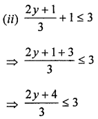 ML Aggarwal Class 8 Solutions for ICSE Maths Chapter 12 Linear Equations and Inequalities in one Variable Ex 12.3 Q7.2