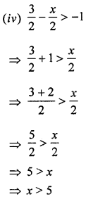 ML Aggarwal Class 8 Solutions for ICSE Maths Chapter 12 Linear Equations and Inequalities in one Variable Ex 12.3 Q8.1