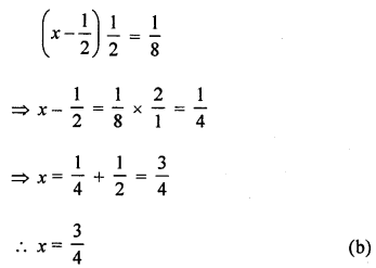 ML Aggarwal Class 8 Solutions for ICSE Maths Chapter 12 Linear Equations and Inequalities in one Variable Objective Type Questions Q9.2