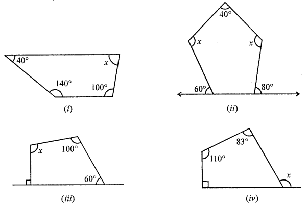 ML Aggarwal Class 8 Solutions for ICSE Maths Chapter 13 Understanding Quadrilaterals Ex 13.1 Q12.1