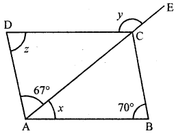 ML Aggarwal Class 8 Solutions for ICSE Maths Chapter 13 Understanding Quadrilaterals Ex 13.2 Q2.5
