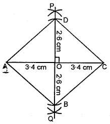 ML Aggarwal Class 8 Solutions for ICSE Maths Chapter 14 Constructions of Quadrilaterals Ex 14.2 Q11.1
