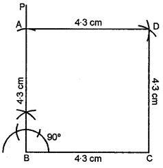 ML Aggarwal Class 8 Solutions for ICSE Maths Chapter 14 Constructions of Quadrilaterals Ex 14.2 Q12.1
