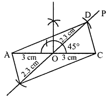 ML Aggarwal Class 8 Solutions for ICSE Maths Chapter 14 Constructions of Quadrilaterals Ex 14.2 Q4.1