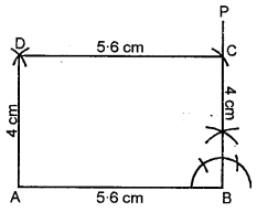 ML Aggarwal Class 8 Solutions for ICSE Maths Chapter 14 Constructions of Quadrilaterals Ex 14.2 Q5.1