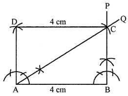 ML Aggarwal Class 8 Solutions for ICSE Maths Chapter 14 Constructions of Quadrilaterals Ex 14.2 Q7.1