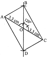 ML Aggarwal Class 8 Solutions for ICSE Maths Chapter 14 Constructions of Quadrilaterals Ex 14.2 Q8.1