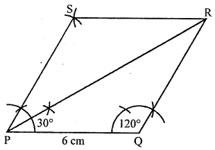 ML Aggarwal Class 8 Solutions for ICSE Maths Chapter 14 Constructions of Quadrilaterals Objective Type Questions hots Q2.1