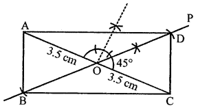 ML Aggarwal Class 8 Solutions for ICSE Maths Chapter 14 Constructions of Quadrilaterals Objective Type Questions hots Q3.1