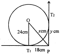 ML Aggarwal Class 8 Solutions for ICSE Maths Chapter 15 Circle Q6.5