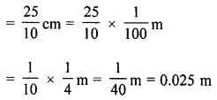 ML Aggarwal Class 8 Solutions for ICSE Maths Chapter 18 Mensuration Check Your Progress Q15.1